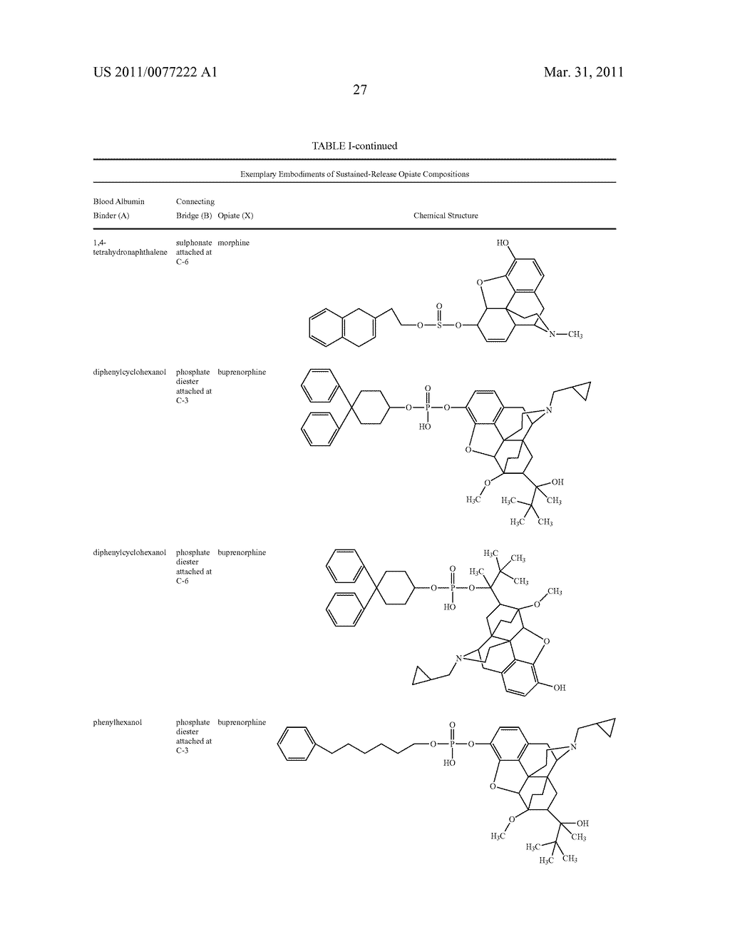 Sustained-Release Opiate and Opiate Derivative Compositions - diagram, schematic, and image 28