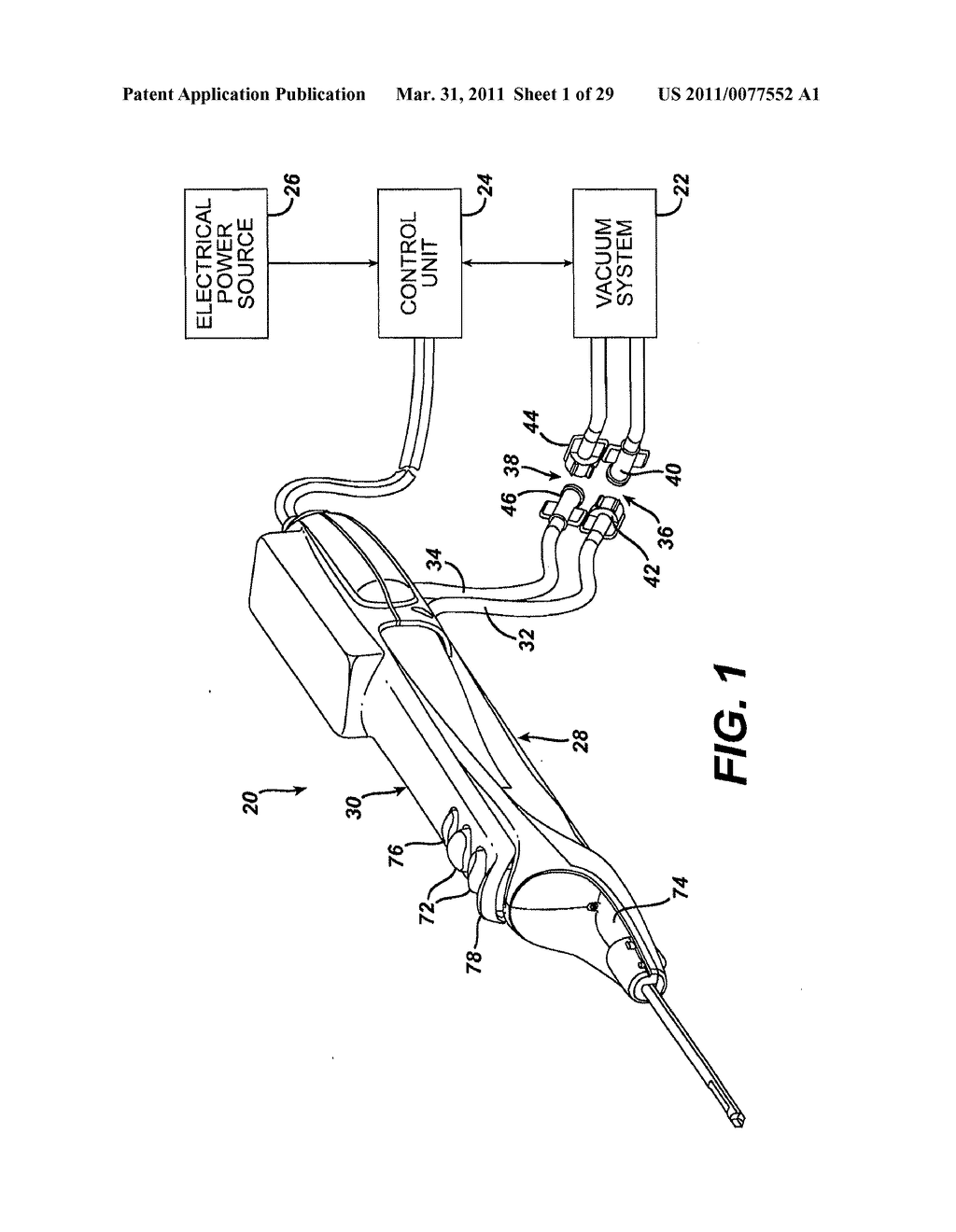 BIOPSY DEVICE WITH VARIABLE SPEED CUTTER ADVANCE - diagram, schematic, and image 02