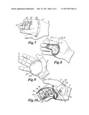 SPHERICAL SECTION HAND SPLINT diagram and image