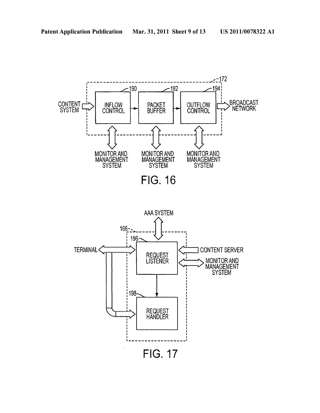 SYSTEM AND METHOD FOR WIRELESSLY BROADCASTING CONTENT FROM A CORE FOR RECEIPT BY A MOBILE CLIENT - diagram, schematic, and image 10