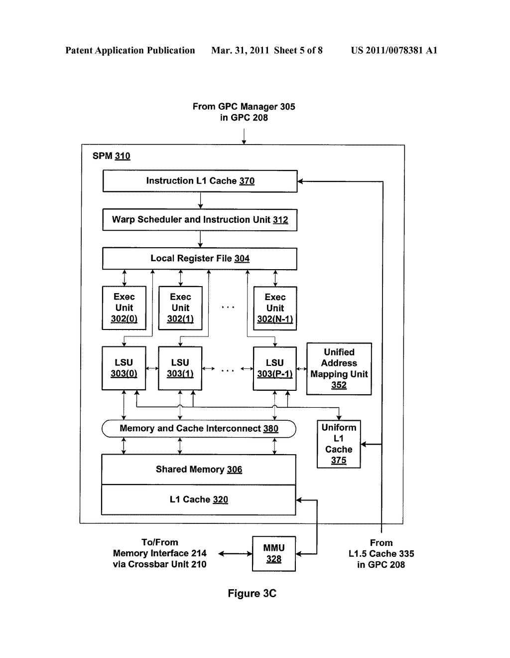 Cache Operations and Policies For A Multi-Threaded Client - diagram, schematic, and image 06