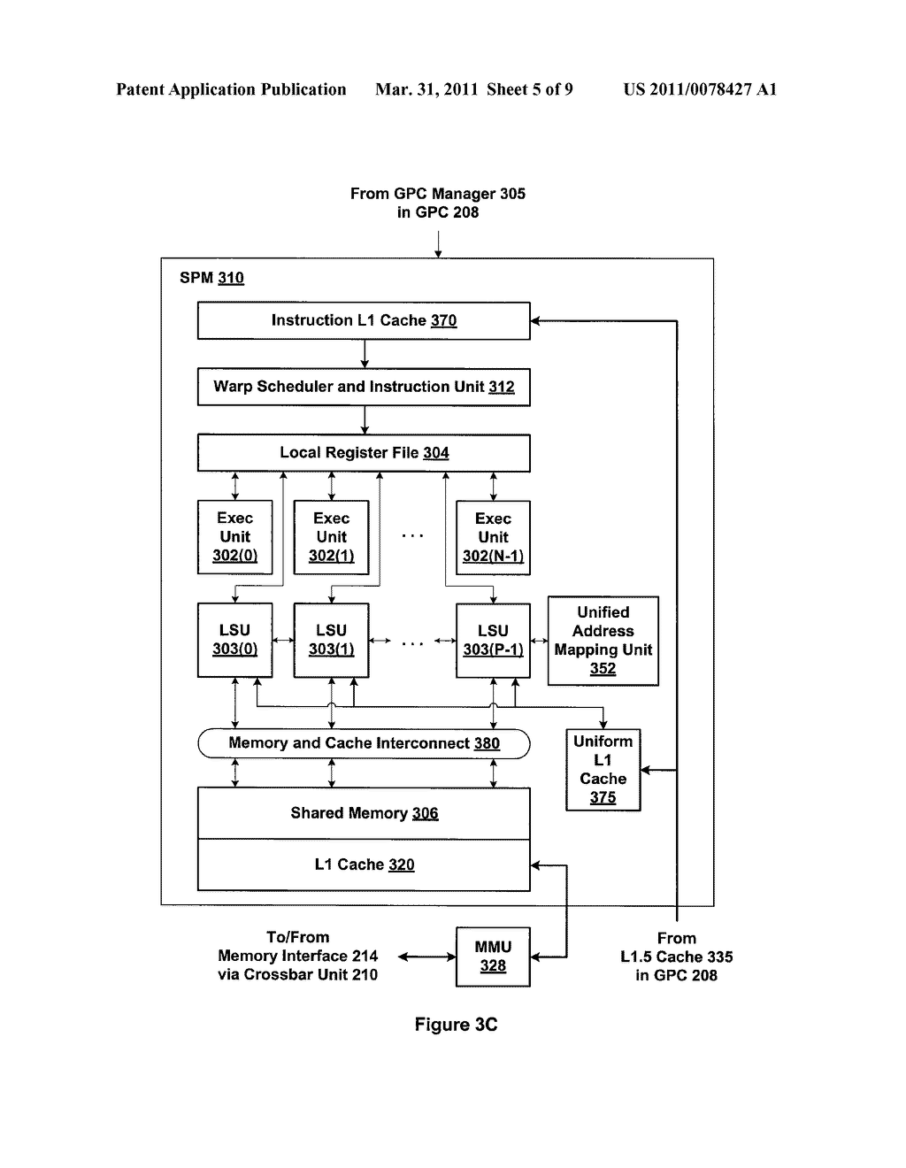 TRAP HANDLER ARCHITECTURE FOR A PARALLEL PROCESSING UNIT - diagram, schematic, and image 06