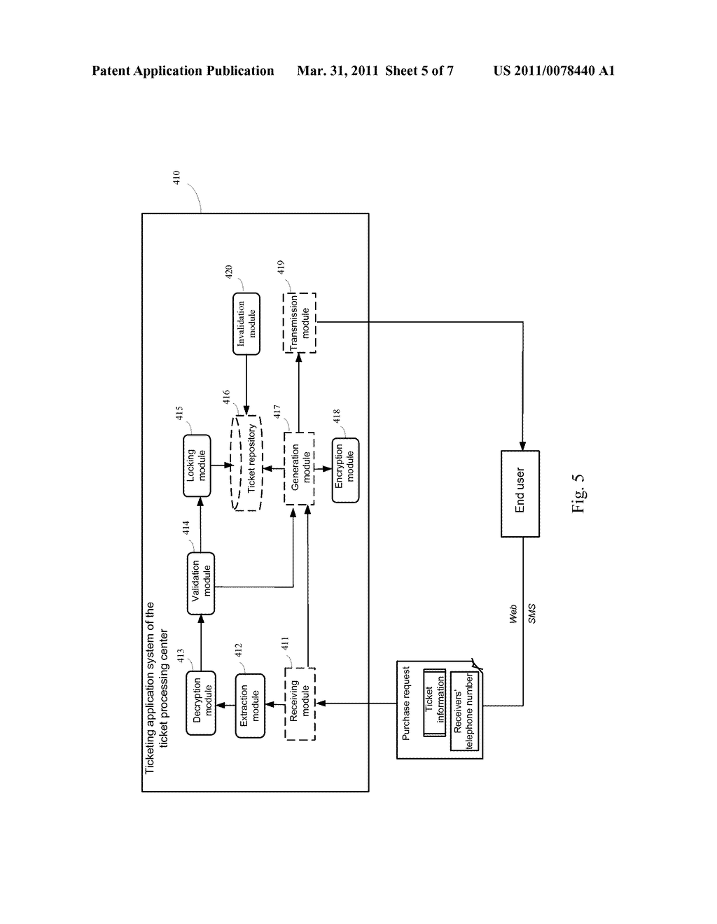 METHOD AND APPARATUS TO IMPLEMENT VALID MOBILE TICKET TRANSFER - diagram, schematic, and image 06