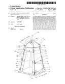 COVERING APPARATUS OR TENT FOR A PLATFORM SWING diagram and image