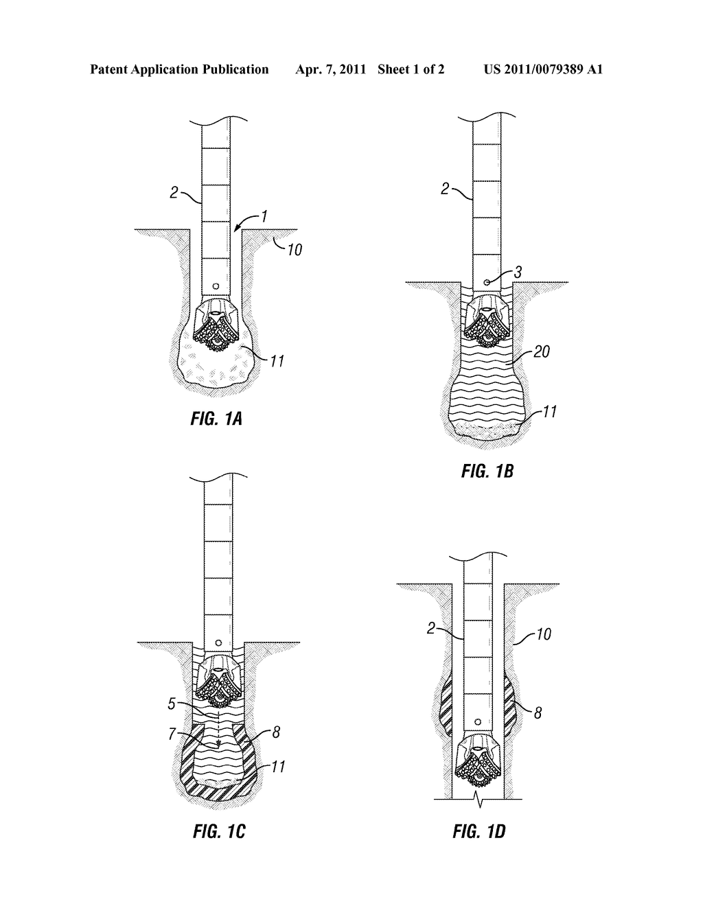 METHOD FOR TREATING WELL BORE WITHIN A SUBTERRANEAN FORMATION - diagram, schematic, and image 02