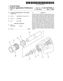Coupling for hydraulic disc brake of bicycle diagram and image