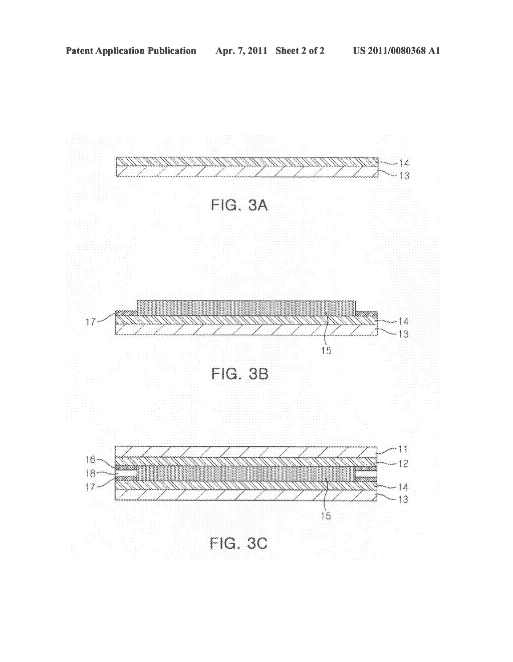 Input device of touch screen and method of manufacturing the same - diagram, schematic, and image 03