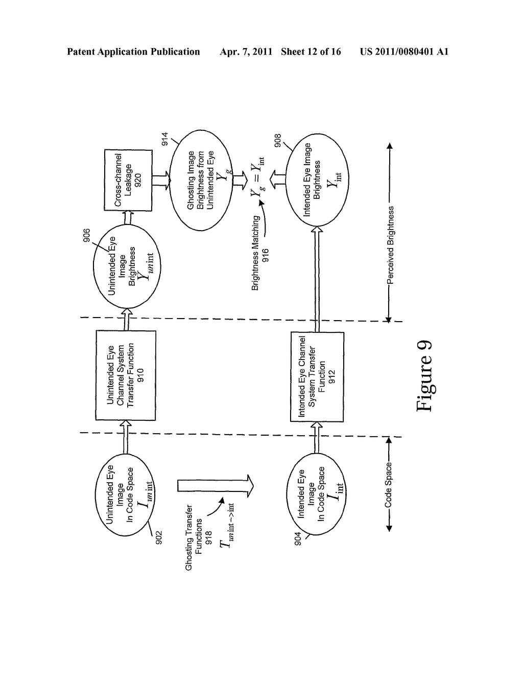 METHODS AND SYSTEMS FOR REDUCING OR ELIMINATING PERCEIVED GHOSTING IN DISPLAYED STEREOSCOPIC IMAGES - diagram, schematic, and image 13