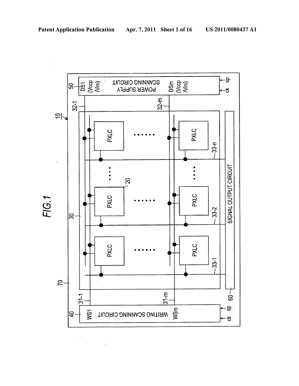 Display device, driving method of display device, and electronic apparatus - diagram, schematic, and image 02