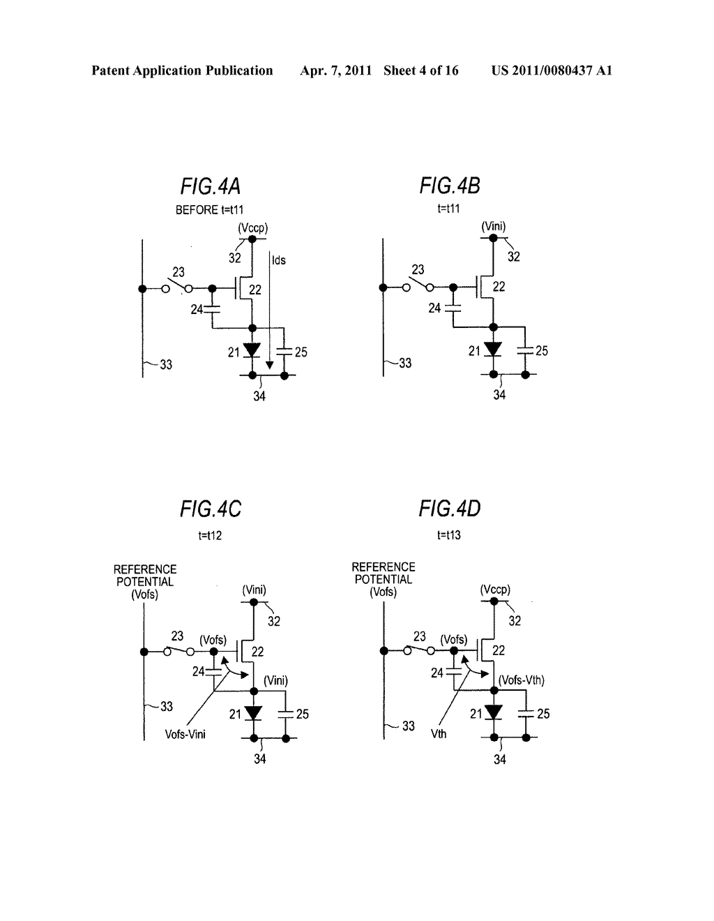 Display device, driving method of display device, and electronic apparatus - diagram, schematic, and image 05