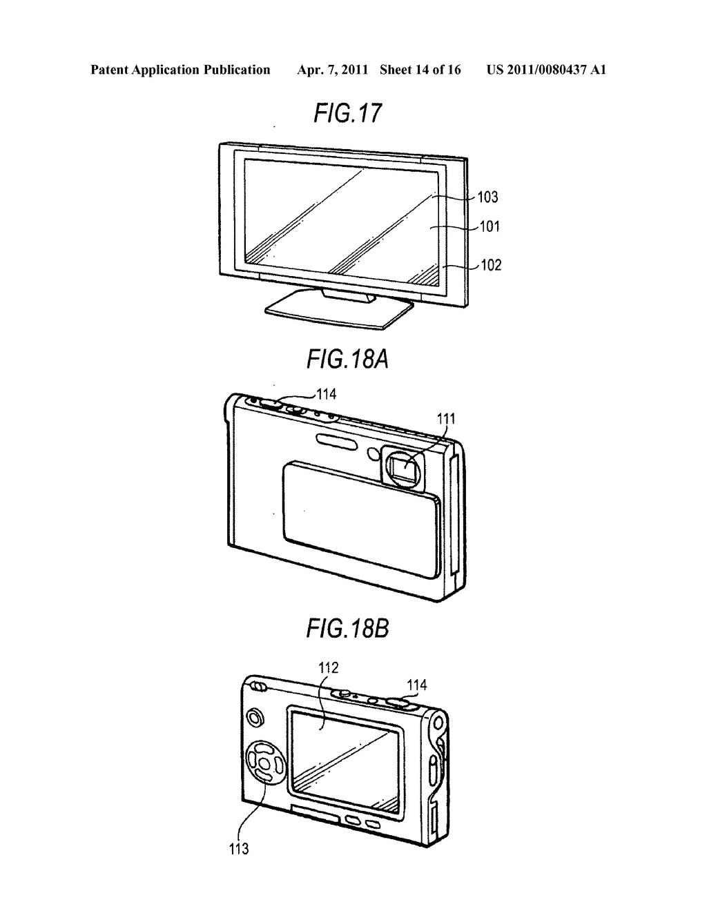 Display device, driving method of display device, and electronic apparatus - diagram, schematic, and image 15