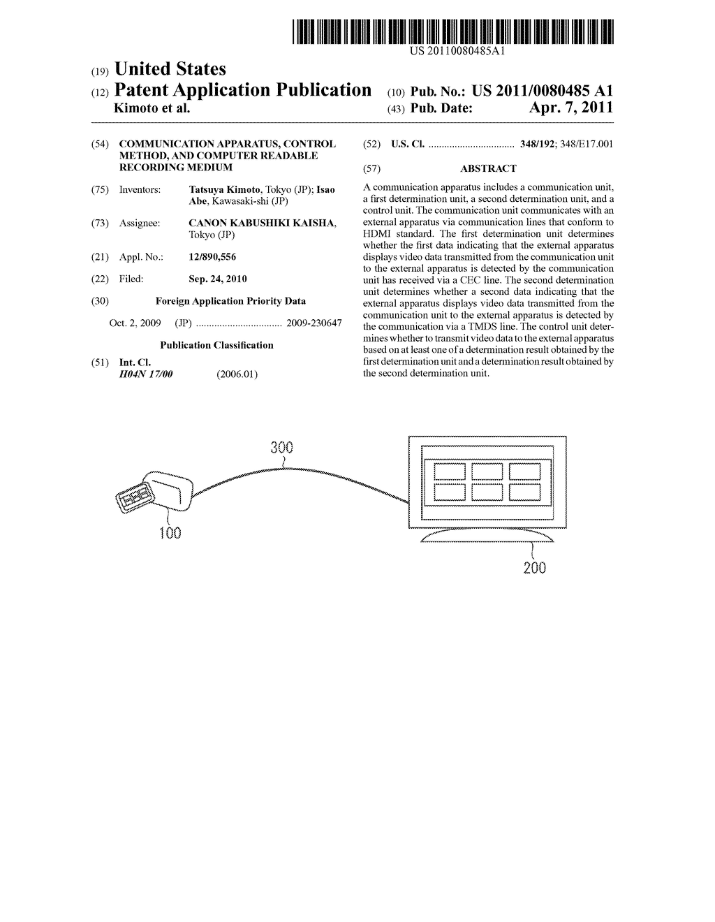 COMMUNICATION APPARATUS, CONTROL METHOD, AND COMPUTER READABLE RECORDING MEDIUM - diagram, schematic, and image 01