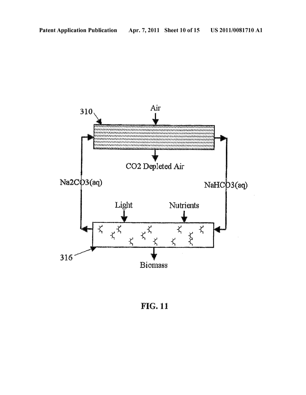 METHOD AND APPARATUS FOR EXTRACTING CARBON DIOXIDE FROM AIR - diagram, schematic, and image 11