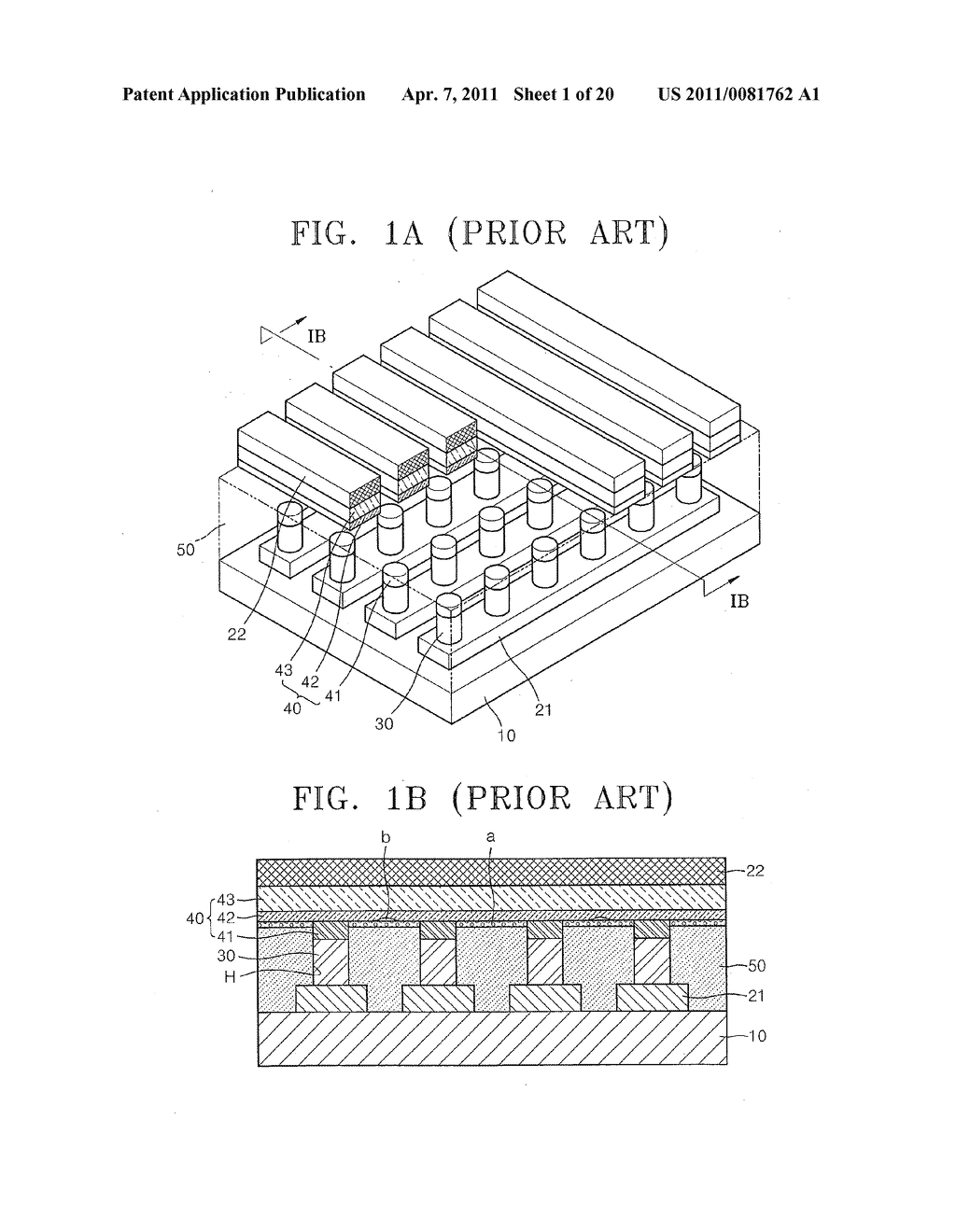 Methods of fabricating non-volatile memory devices with discrete resistive memory material regions - diagram, schematic, and image 02