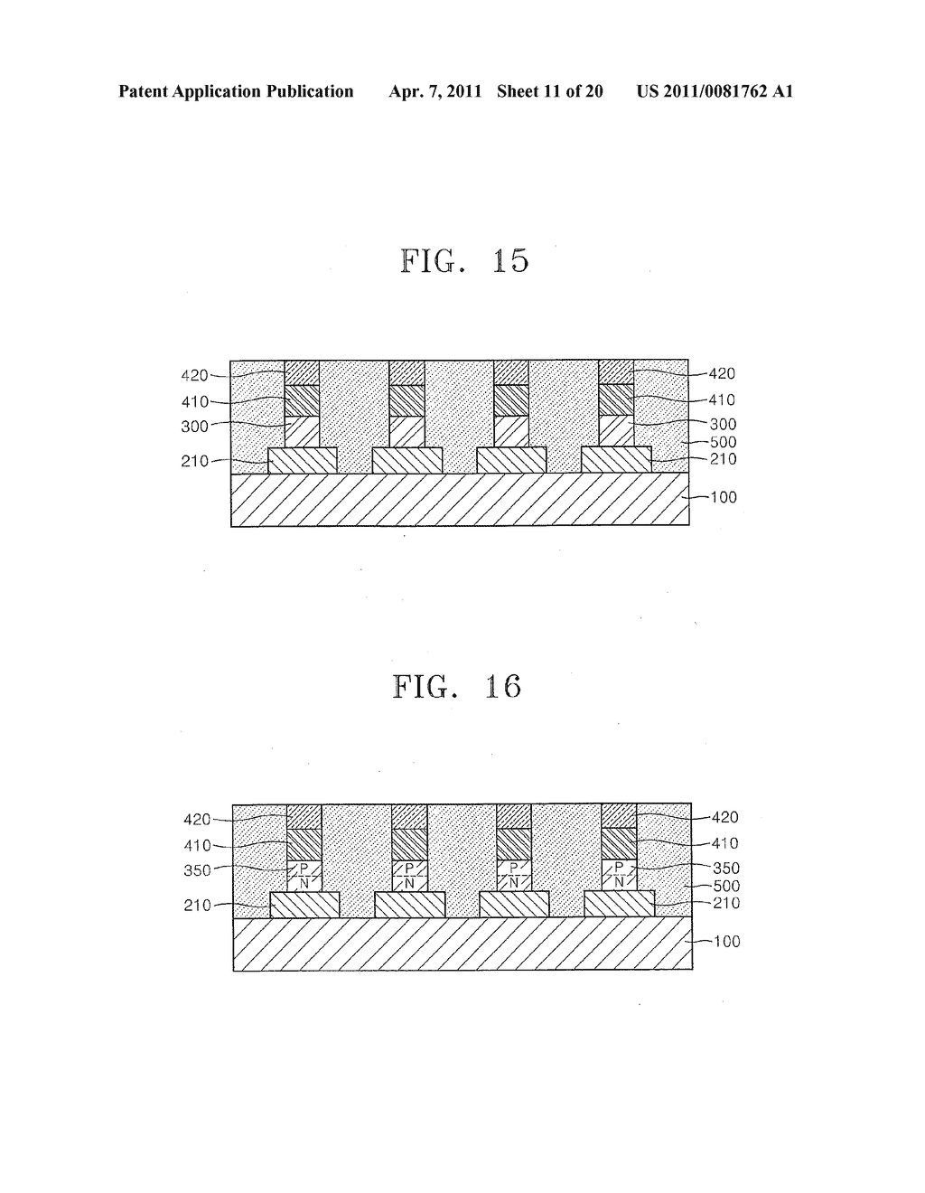Methods of fabricating non-volatile memory devices with discrete resistive memory material regions - diagram, schematic, and image 12