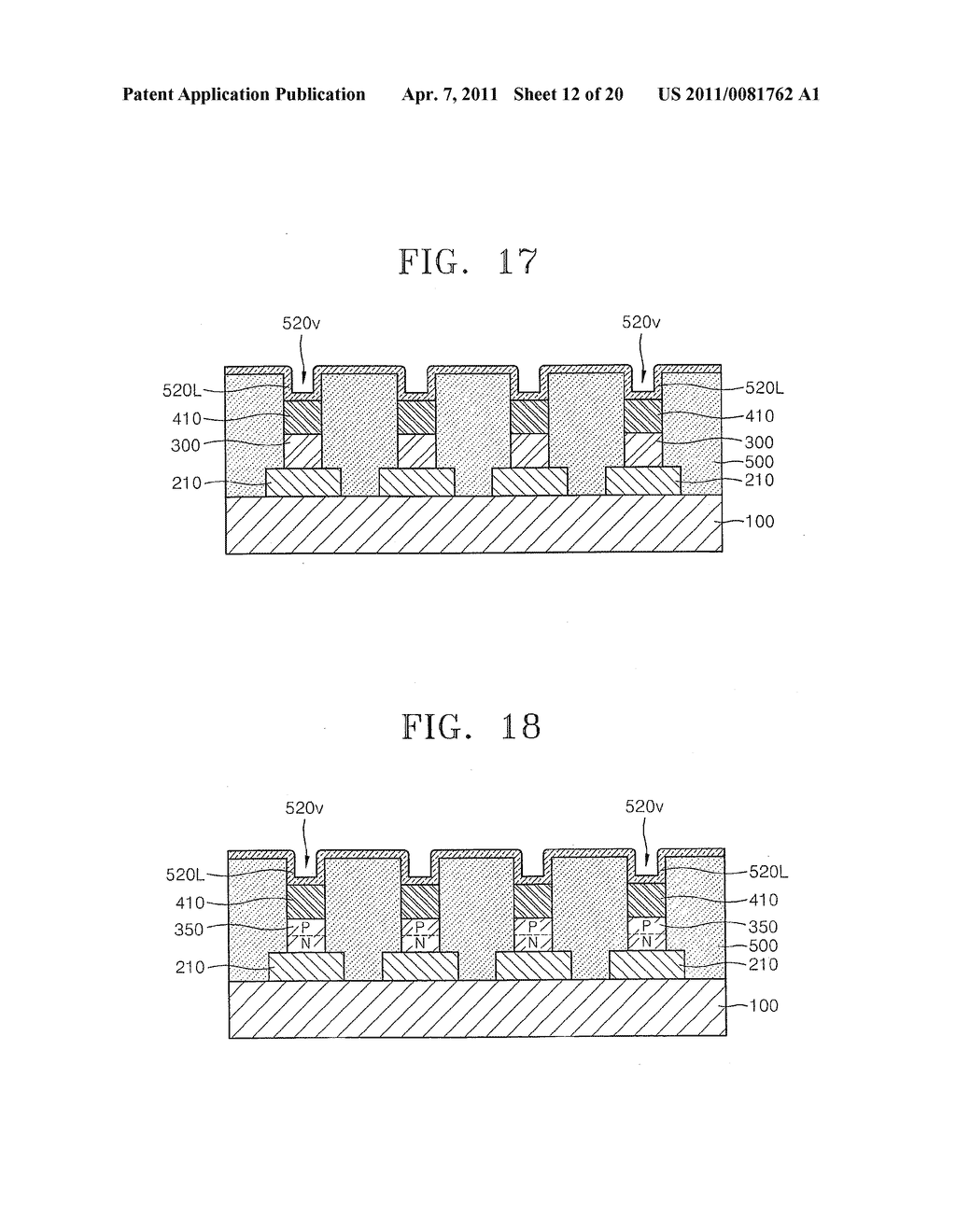 Methods of fabricating non-volatile memory devices with discrete resistive memory material regions - diagram, schematic, and image 13