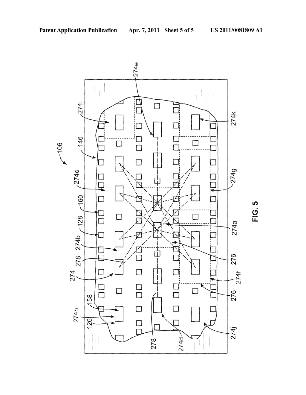 PRINTED CIRCUIT HAVING GROUND VIAS BETWEEN SIGNAL VIAS - diagram, schematic, and image 06