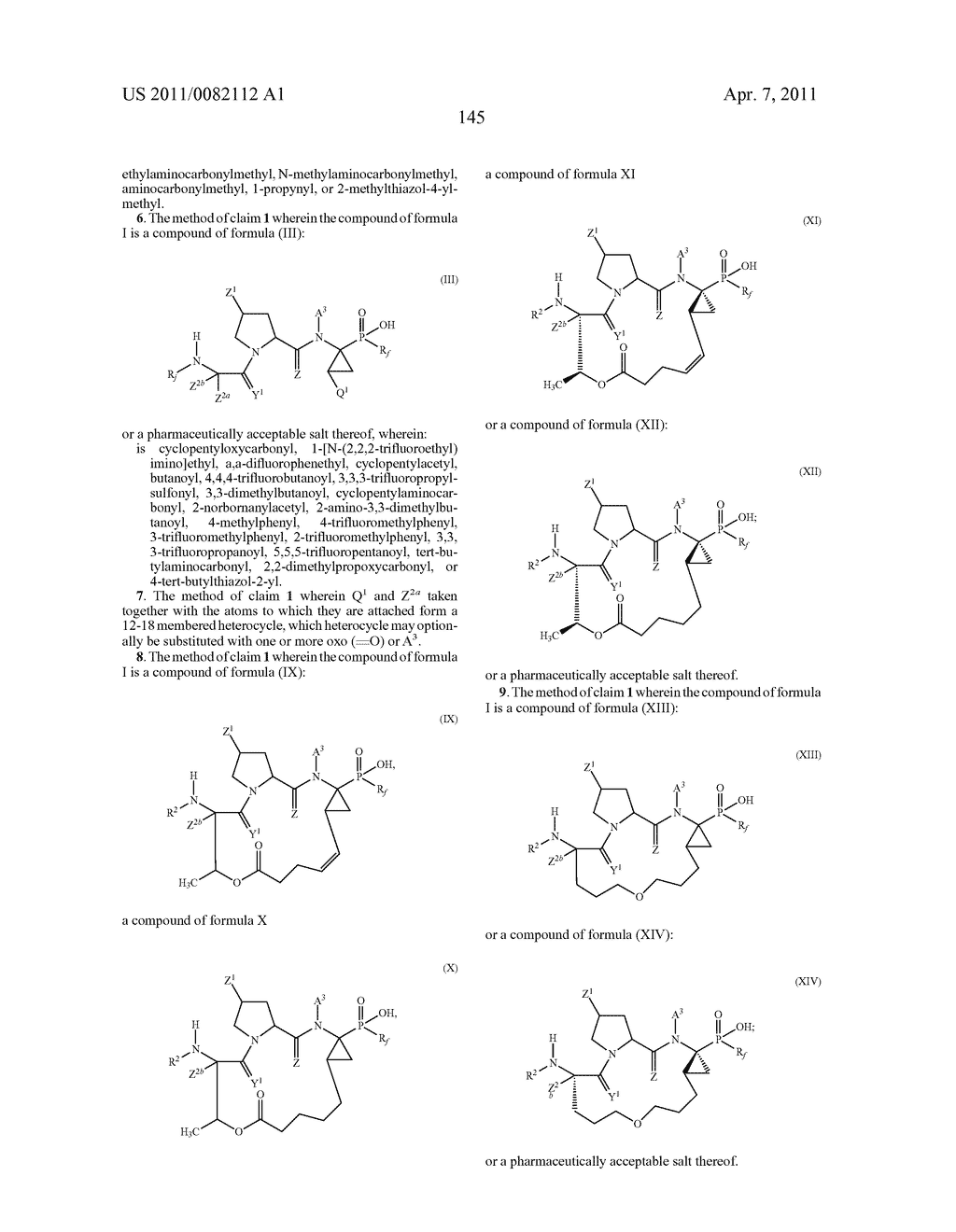 ANTIVIRAL PHOSPHINATE COMPOUNDS - diagram, schematic, and image 146
