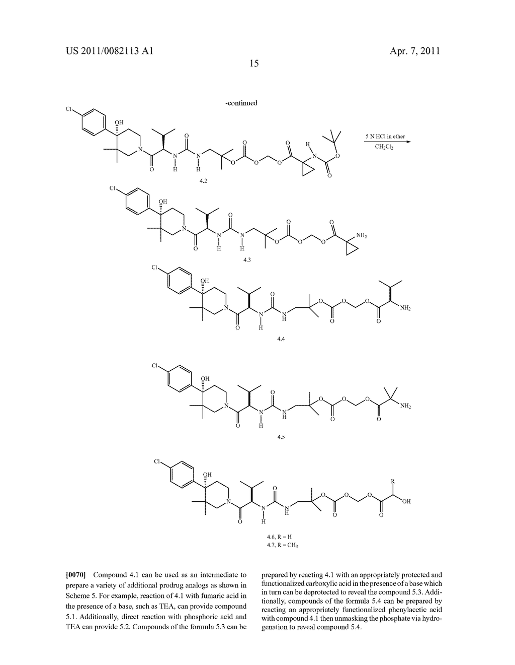 PRODRUGS OF A PIPERIDINYL DERIVATIVE AS MODULATORS OF CHEMOKINE RECEPTOR ACTIVITY - diagram, schematic, and image 16