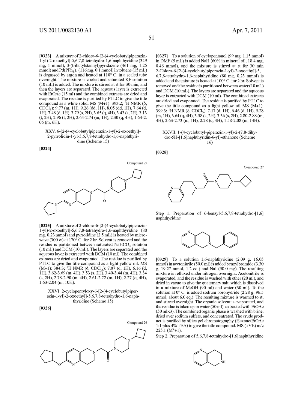 PIPERAZINYL OXOALKYL TETRAHYDROISOQUINOLINES AND RELATED ANALOGUES - diagram, schematic, and image 52
