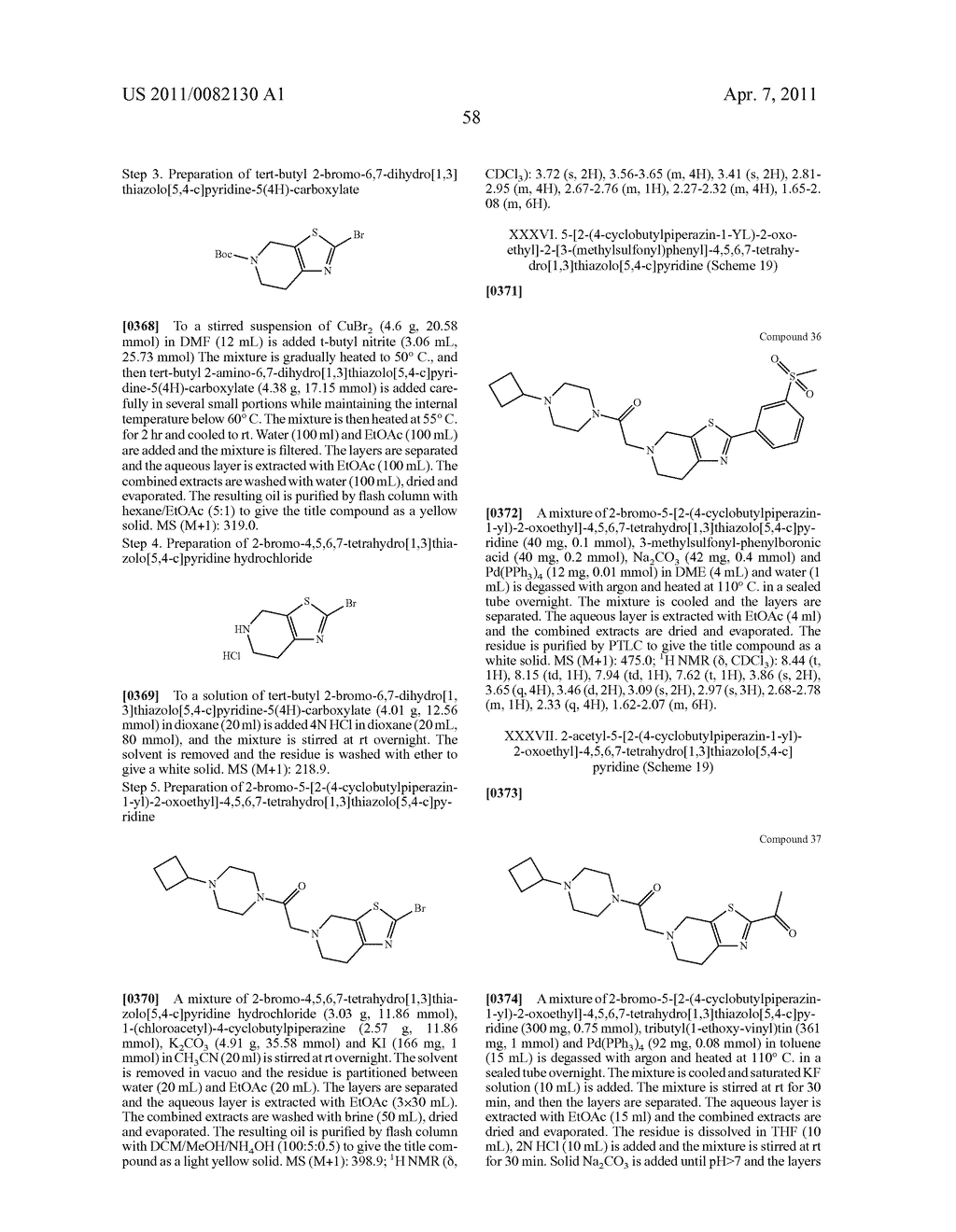 PIPERAZINYL OXOALKYL TETRAHYDROISOQUINOLINES AND RELATED ANALOGUES - diagram, schematic, and image 59