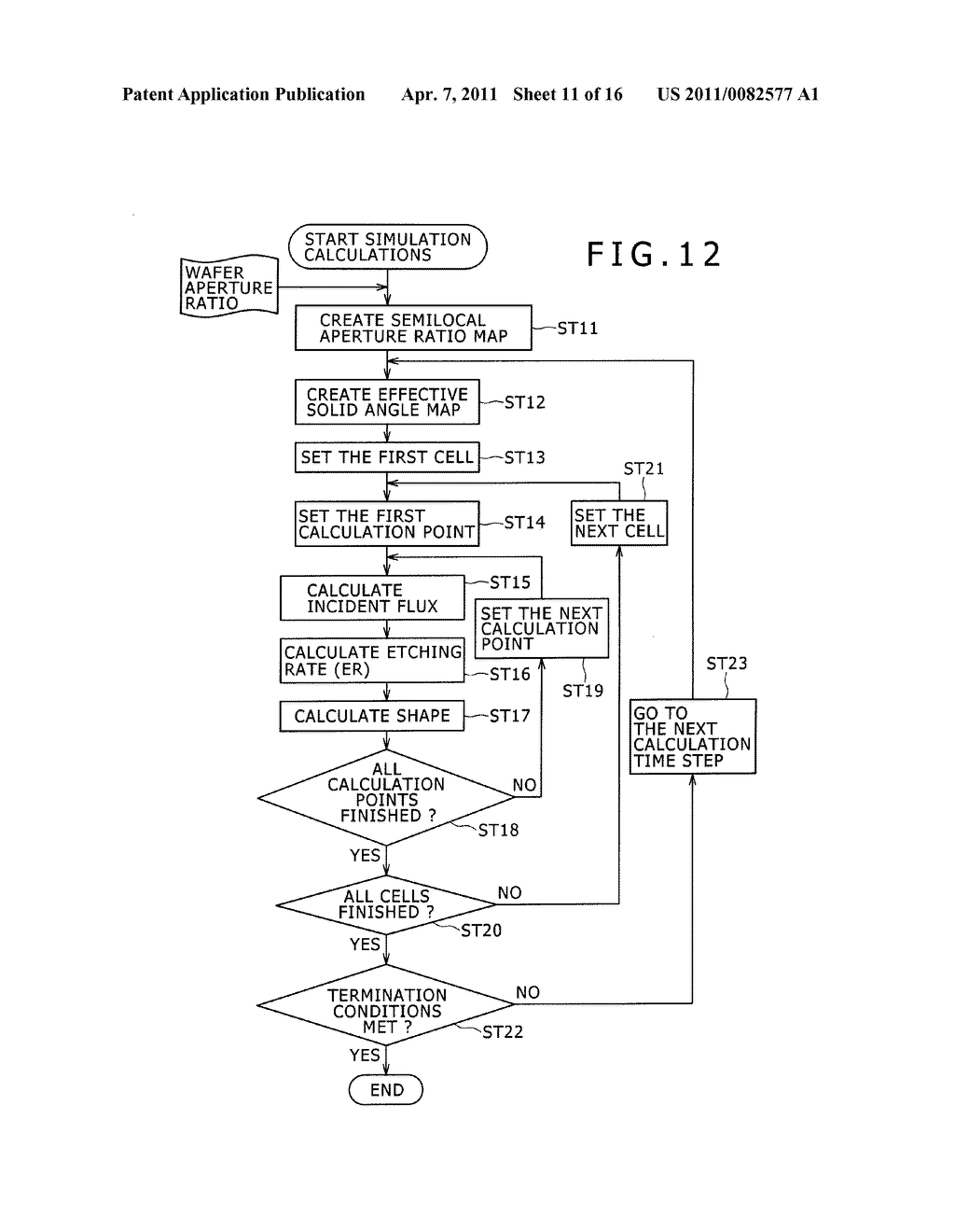 SHAPE SIMULATION APPARATUS, SHAPE SIMULATION PROGRAM, SEMICONDUCTOR PRODUCTION APPARATUS, AND SEMICONDUCTOR DEVICE PRODUCTION METHOD - diagram, schematic, and image 12