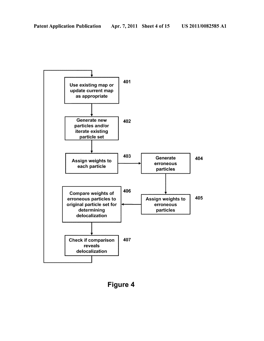 METHOD AND APPARATUS FOR SIMULTANEOUS LOCALIZATION AND MAPPING OF MOBILE ROBOT ENVIRONMENT - diagram, schematic, and image 05