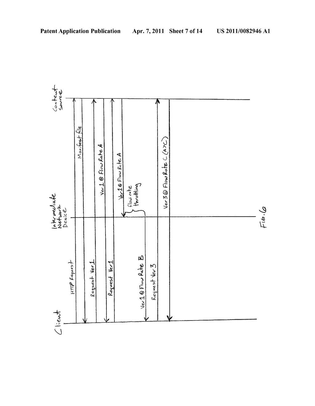 MANAGING NETWORK TRAFFIC USING INTERMEDIATE FLOW CONTROL - diagram, schematic, and image 08