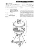 GRILL HANDLE WITH HEAT SHIELD diagram and image