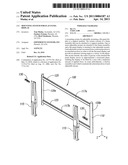 Mounting System for Flat Panel Display diagram and image