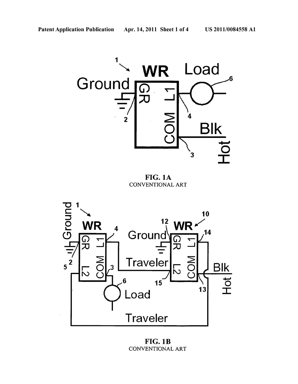 Motion Sensor Switch For 3 Way Light Circuit And Method Of Lighting Control Using The Same Diagram Schematic Image 02