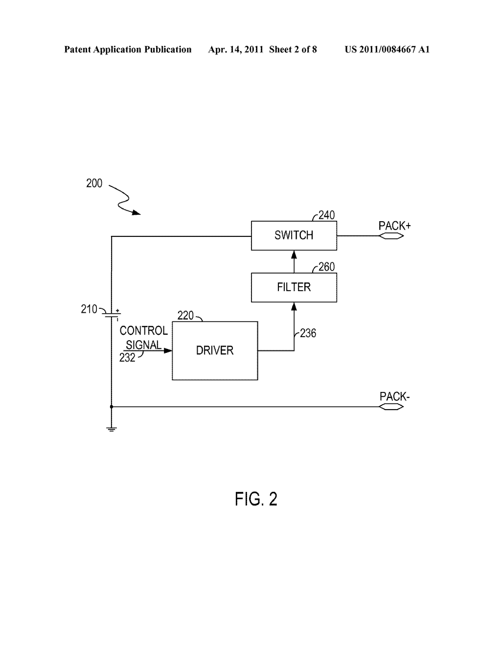 CIRCUITS AND METHODS FOR CONTROLLING A CURRENT FLOWING THROUGH A BATTERY - diagram, schematic, and image 03