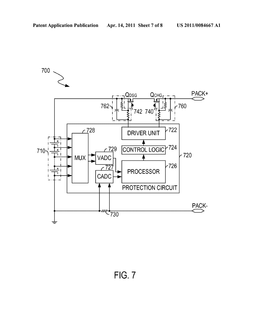 CIRCUITS AND METHODS FOR CONTROLLING A CURRENT FLOWING THROUGH A BATTERY - diagram, schematic, and image 08