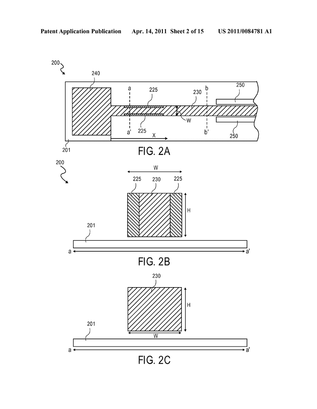Method For Temperature Compensation In MEMS Resonators With Isolated Regions Of Distinct Material - diagram, schematic, and image 03