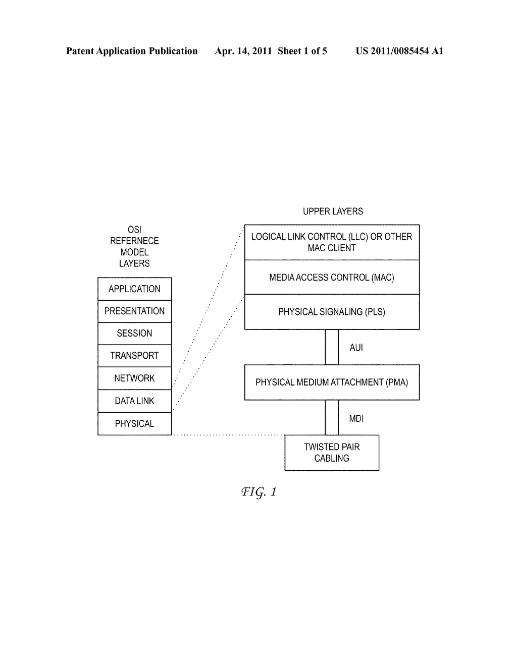 System and Method for Auto 10BASE-T/10BASE-Te Selection Based on Cable Characteristics - diagram, schematic, and image 02