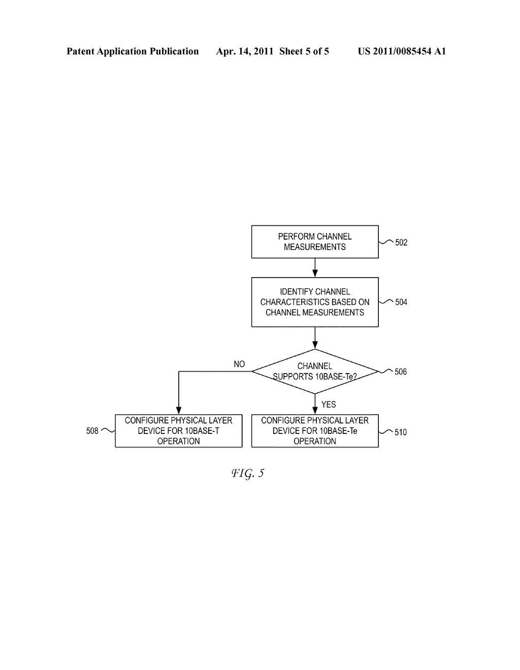 System and Method for Auto 10BASE-T/10BASE-Te Selection Based on Cable Characteristics - diagram, schematic, and image 06