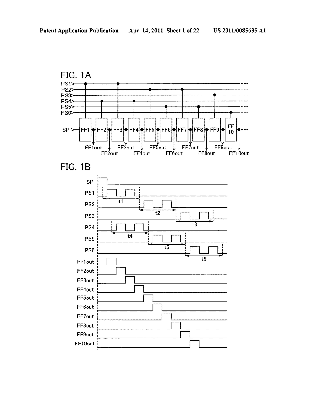 SHIFT REGISTER AND DISPLAY DEVICE AND DRIVING METHOD THEREOF - diagram, schematic, and image 02