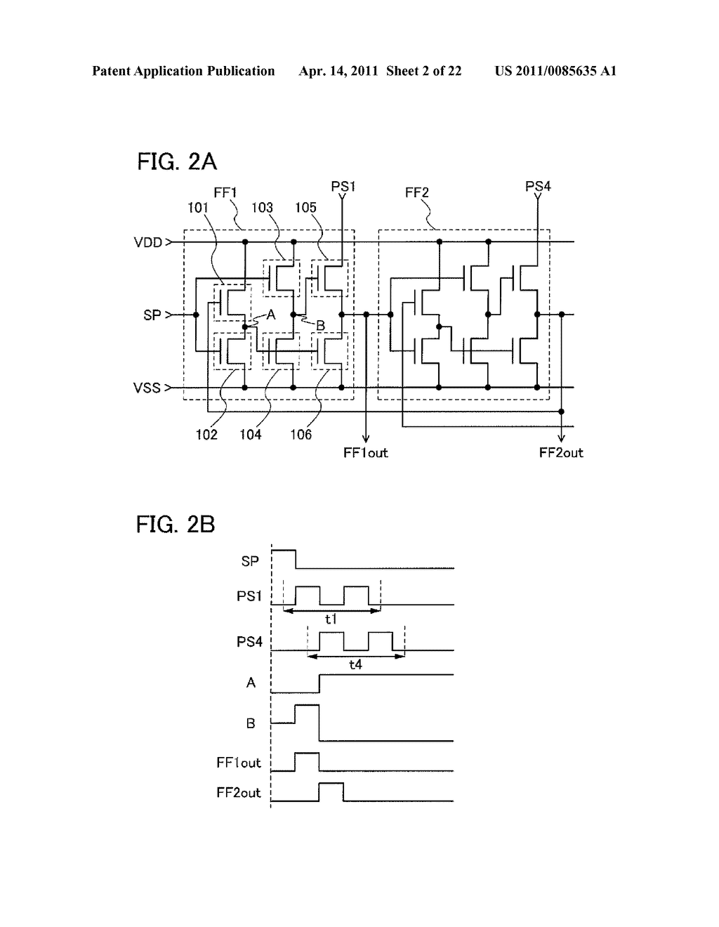 SHIFT REGISTER AND DISPLAY DEVICE AND DRIVING METHOD THEREOF - diagram, schematic, and image 03