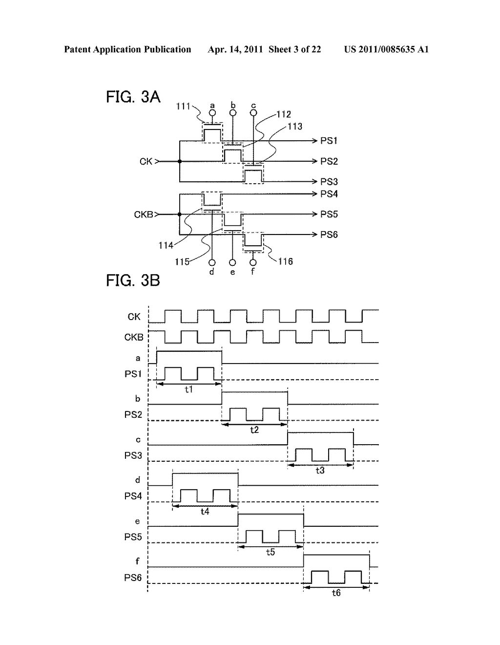 SHIFT REGISTER AND DISPLAY DEVICE AND DRIVING METHOD THEREOF - diagram, schematic, and image 04