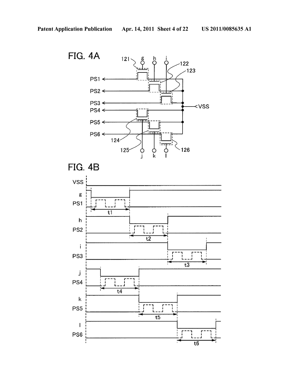 SHIFT REGISTER AND DISPLAY DEVICE AND DRIVING METHOD THEREOF - diagram, schematic, and image 05