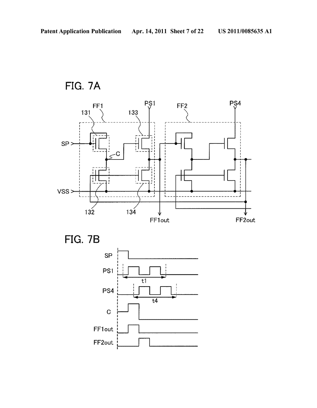SHIFT REGISTER AND DISPLAY DEVICE AND DRIVING METHOD THEREOF - diagram, schematic, and image 08