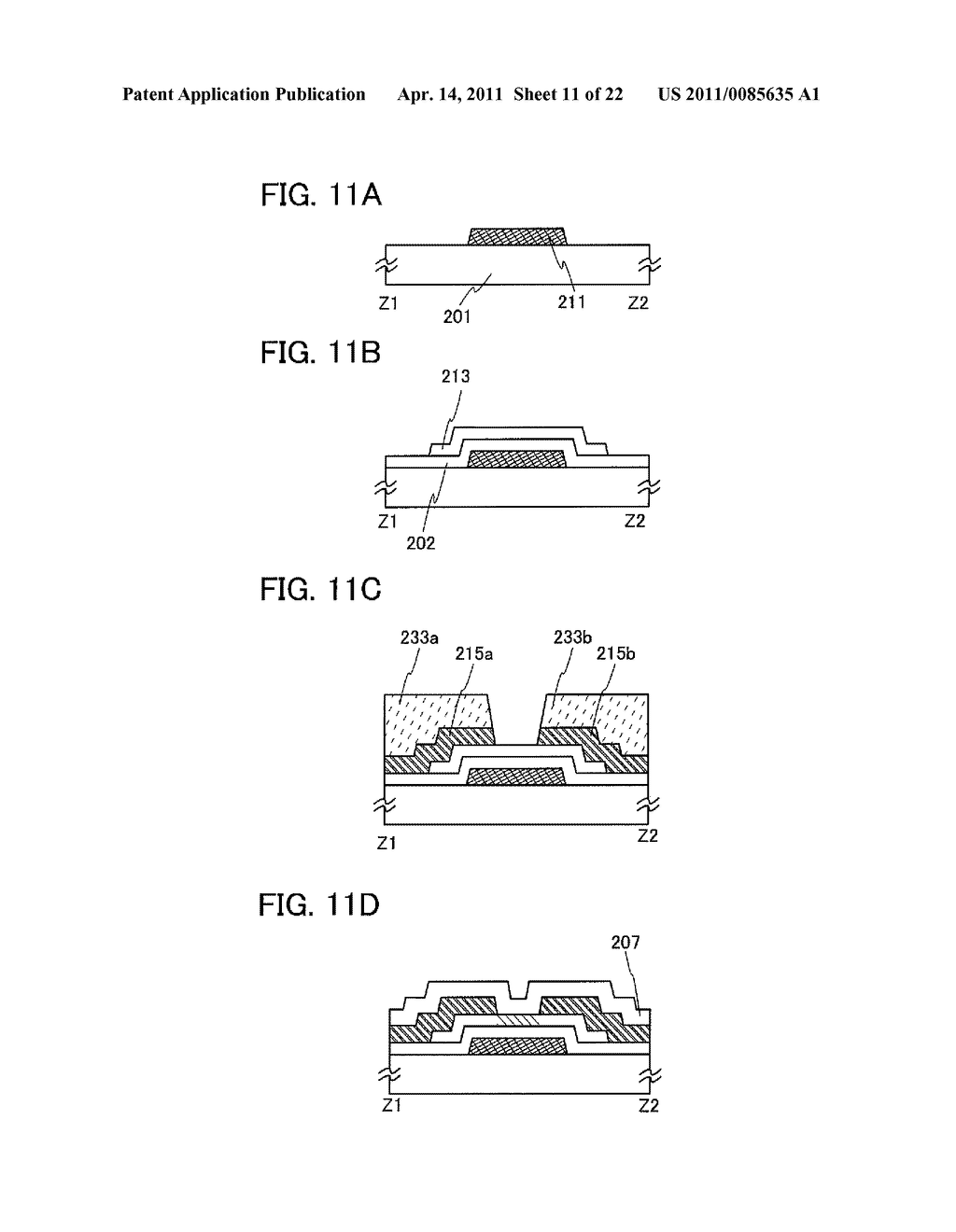SHIFT REGISTER AND DISPLAY DEVICE AND DRIVING METHOD THEREOF - diagram, schematic, and image 12