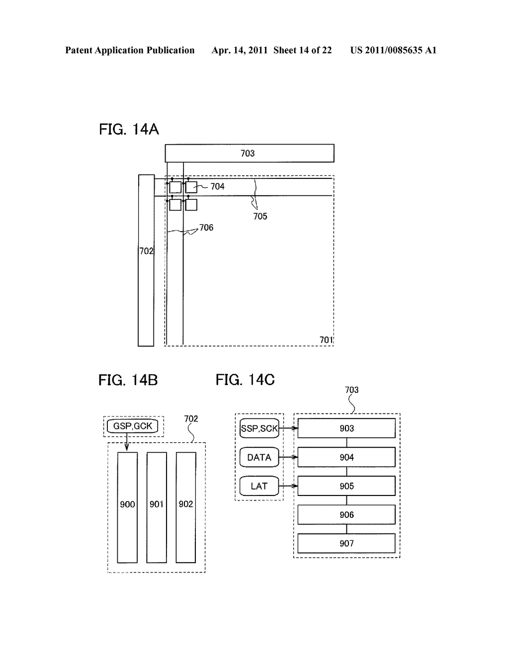 SHIFT REGISTER AND DISPLAY DEVICE AND DRIVING METHOD THEREOF - diagram, schematic, and image 15