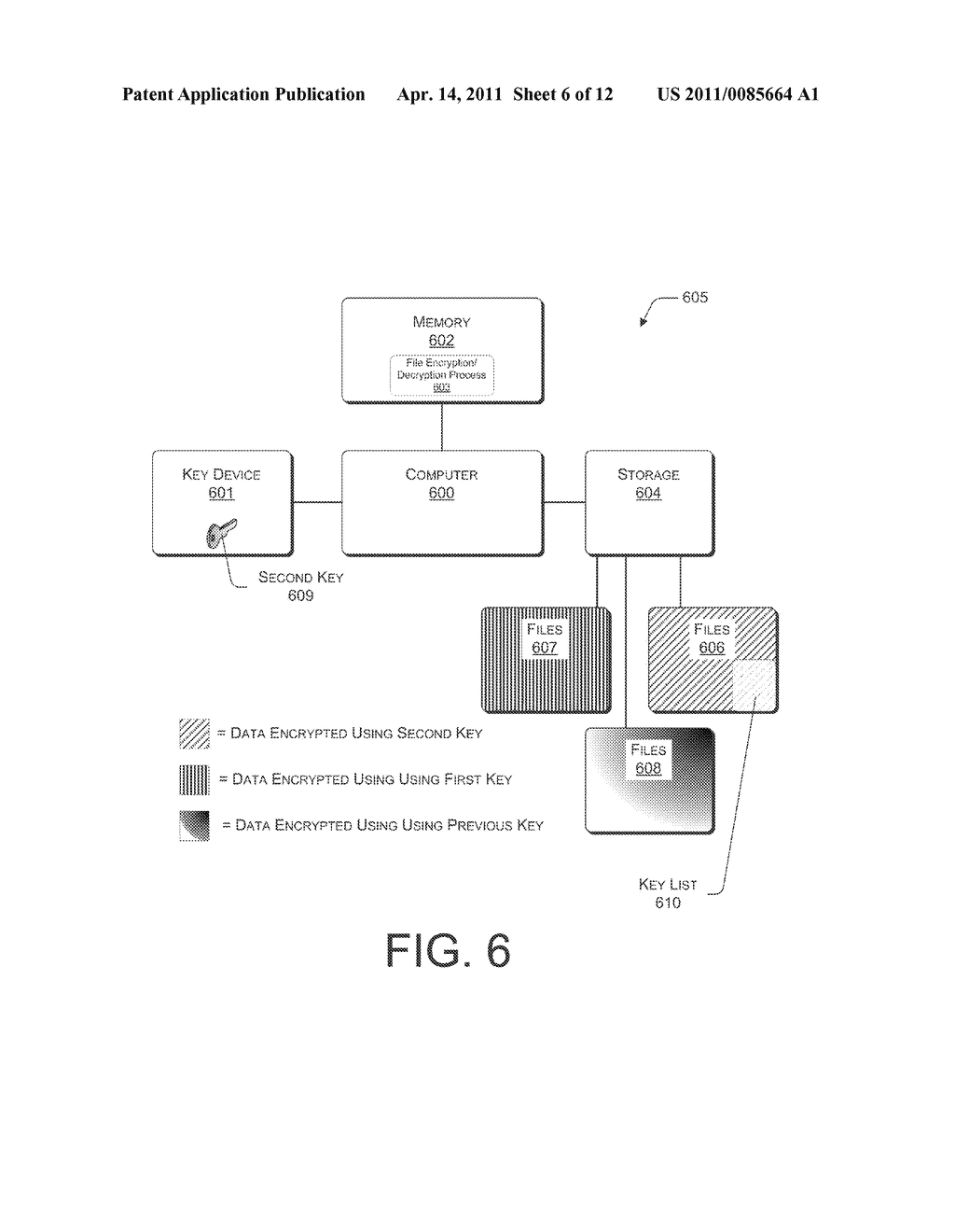 SYSTEMS AND METHODS FOR MANAGING MULTIPLE KEYS FOR FILE ENCRYPTION AND DECRYPTION - diagram, schematic, and image 07
