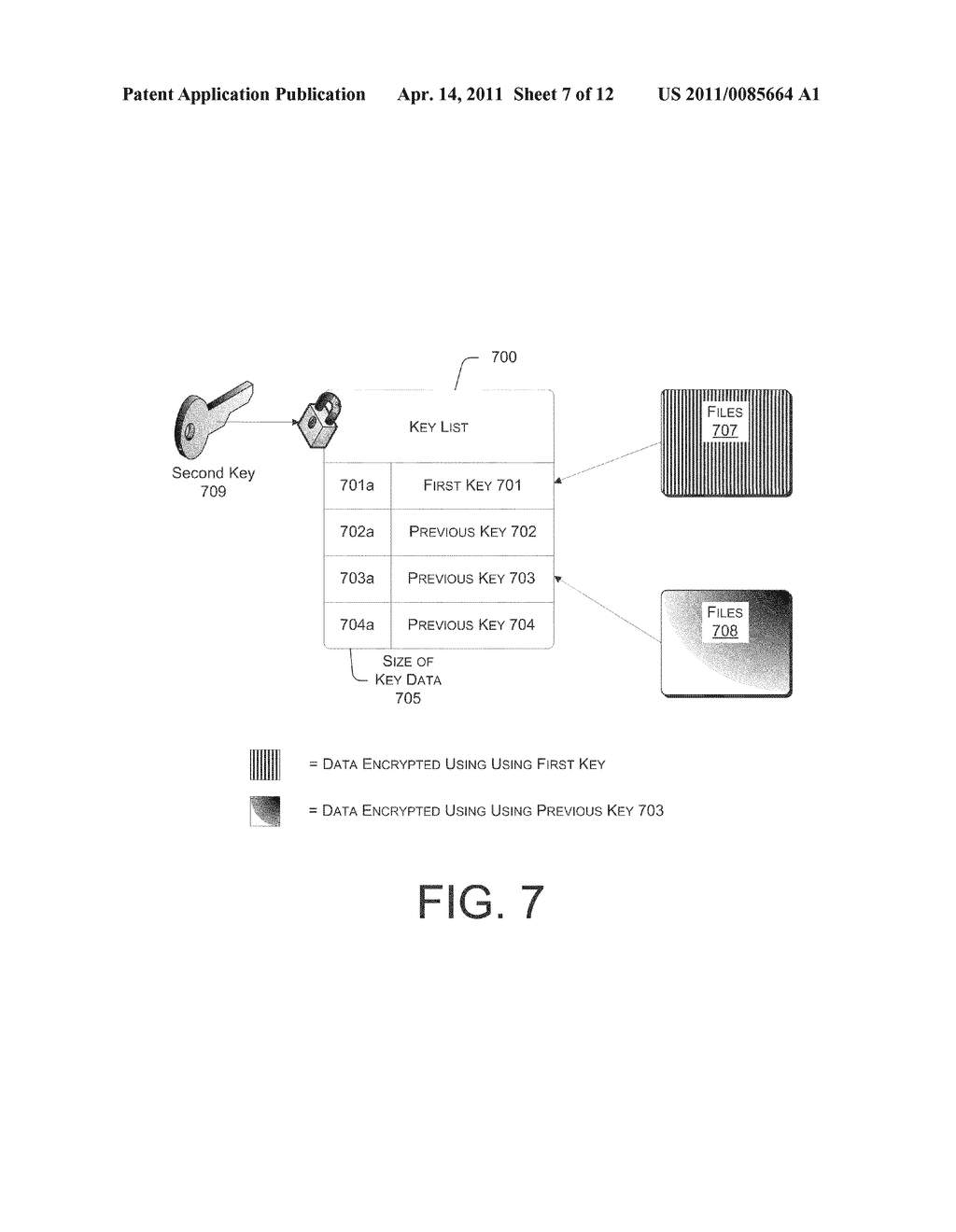 SYSTEMS AND METHODS FOR MANAGING MULTIPLE KEYS FOR FILE ENCRYPTION AND DECRYPTION - diagram, schematic, and image 08