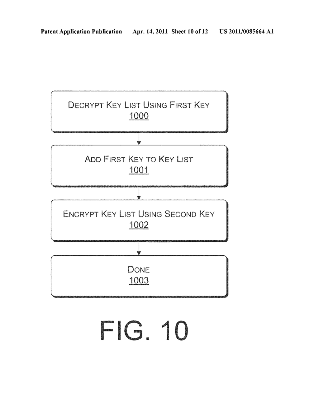 SYSTEMS AND METHODS FOR MANAGING MULTIPLE KEYS FOR FILE ENCRYPTION AND DECRYPTION - diagram, schematic, and image 11