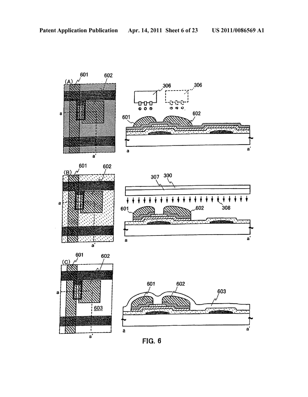 METHOD FOR PRODUCING SEMICONDUCTOR DEVICE AND DISPLAY DEVICE - diagram, schematic, and image 07