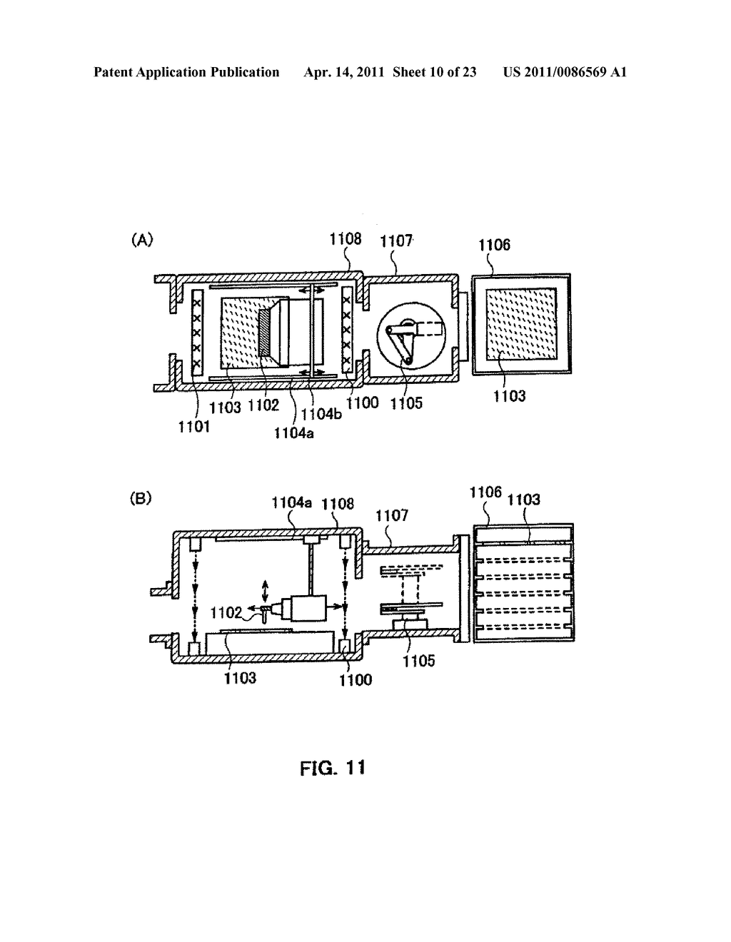 METHOD FOR PRODUCING SEMICONDUCTOR DEVICE AND DISPLAY DEVICE - diagram, schematic, and image 11