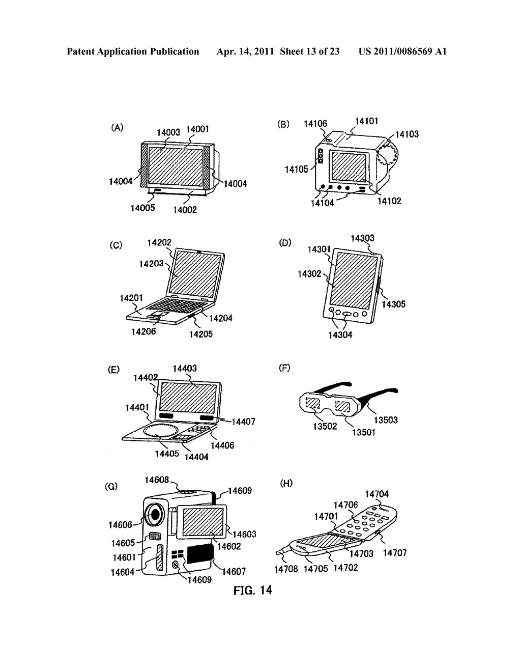 METHOD FOR PRODUCING SEMICONDUCTOR DEVICE AND DISPLAY DEVICE - diagram, schematic, and image 14