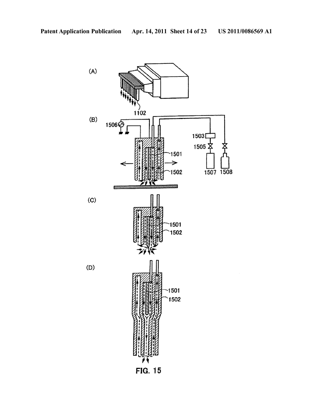 METHOD FOR PRODUCING SEMICONDUCTOR DEVICE AND DISPLAY DEVICE - diagram, schematic, and image 15